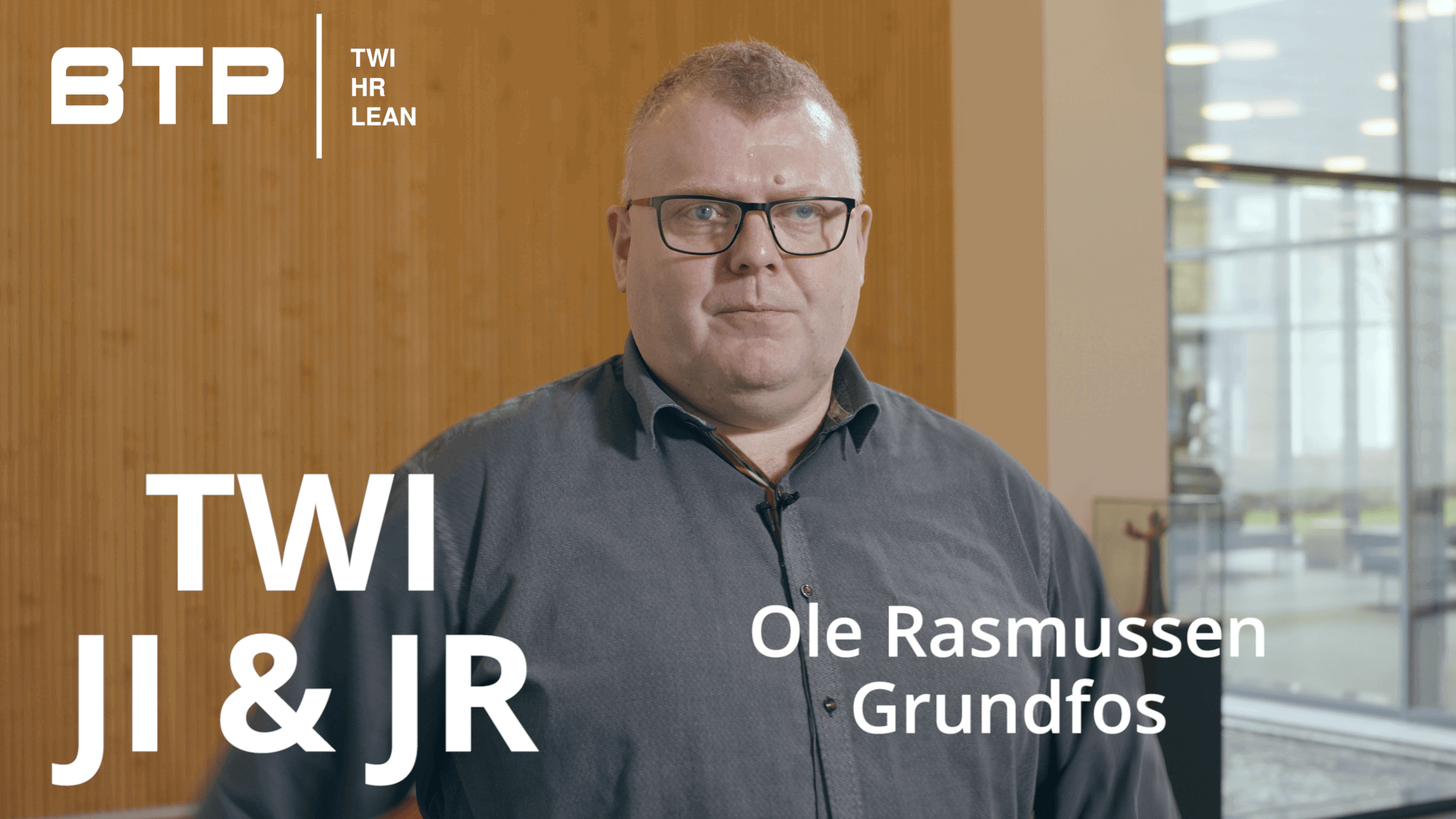 TWI Job Instruktion og TWI Job Relationer hos Grundfos